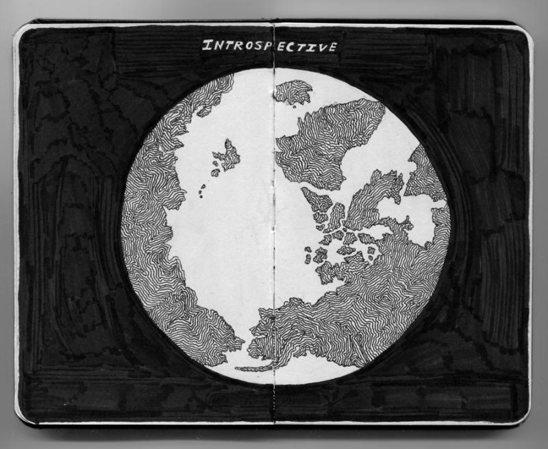 INTROSPECTIVE illustration by Daniel Zvereff