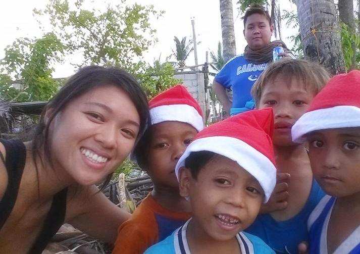 The best smiles. Santa's helpers